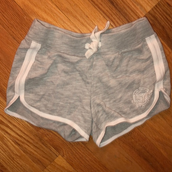 Justice Other - Justice gray gym shorts size 7